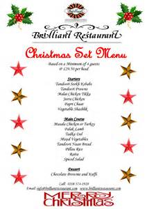 Indian Menu Ideas For Dinner Party - christmas set menu your christmas party at brilliant indian restaurant southall middlesex