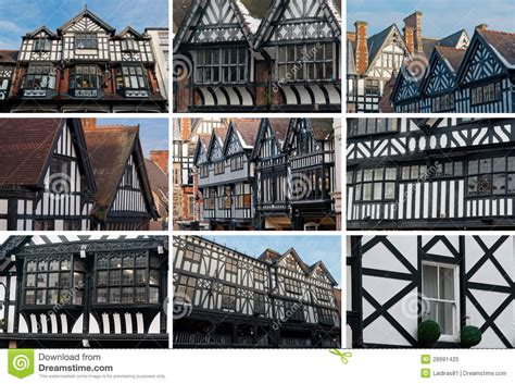 Tudor House Plans With Photos chester tudor architecture collage royalty free stock