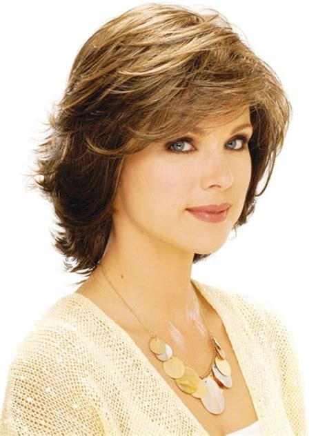 feathered haircuts for round faces 38 best haircuts images on pinterest hair cut chin