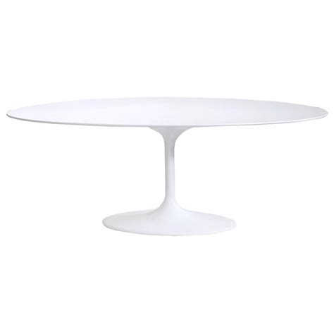 Tulip Style Dining Table Buy White Large Oval Tulip Style Dining Table From Fusion Living