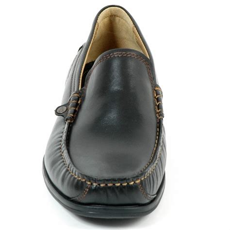 Leather Perth by Camel Active Perth Mens Slip On Classic Leather Moccasin