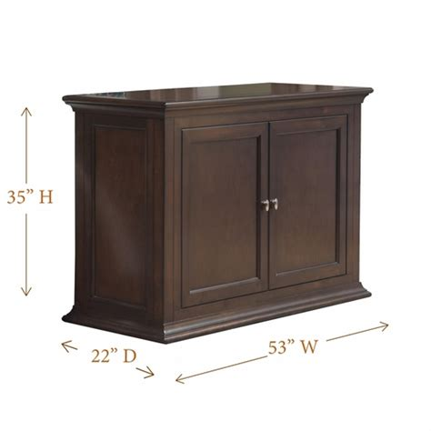 Flat Screen Lift Cabinet by The Harrison Espresso Tv Lift Cabinet For Flat Screen Tvs