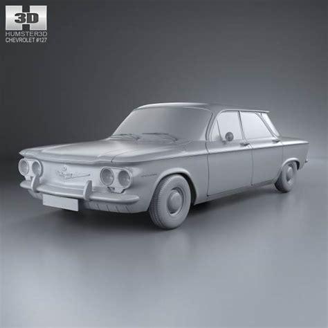 chevrolet 1960 models chevrolet corvair sedan 1960 3d model hum3d