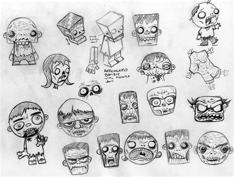 doodle zombies zombify some cool sketch doodle via www macula tv