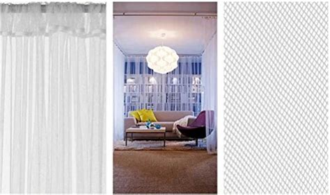ikea 98 inch curtains ikea mesh lace curtains 110 inch by 98 inch 1 pair