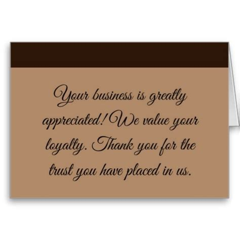 Thank You Card For A Business the gallery for gt business thank you cards
