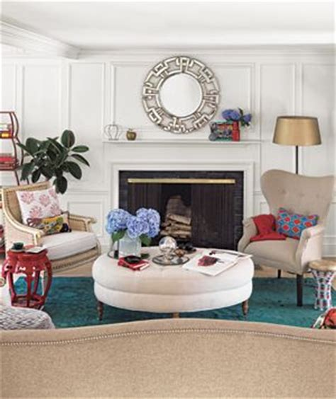 Feng Shui Living Room With Fireplace Rearrange Your Living Room Ottomans The Fireplace And