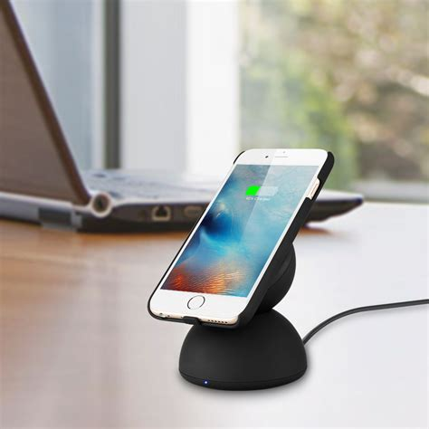 lade a led samsung qi wireless charger ladestation ladeger 228 t led induktion