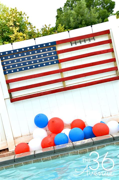 patriotic decorations for home patriotic diy backyard decor the 36th avenue