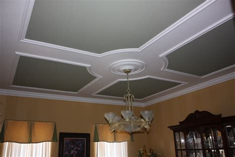 Coffered Ceiling Framing Coffered Ceiling Crown Trim By Design