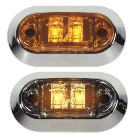 grote led trailer lights grote industries led mini sidemarker clearance lights