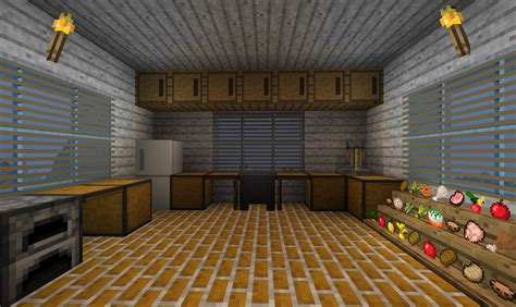 minecraft furniture kitchen minecraft kitchen only will use item frames for the food