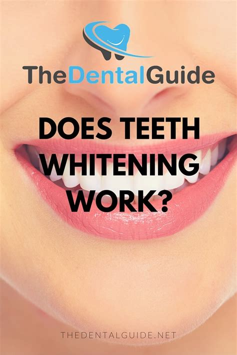 do teeth whitening lights work does teeth whitening work the dental guide