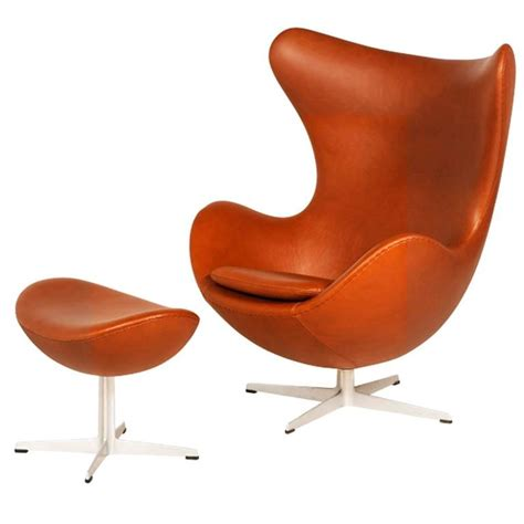 Egg Chair For Sale by Arne Jacobsen Egg Chair With Ottoman For Fritz Hansen