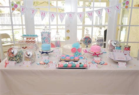 birthday themes for twin boy and girl lollipop birthday party for twins
