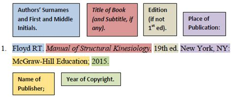 booksebooks ama style citation examples research