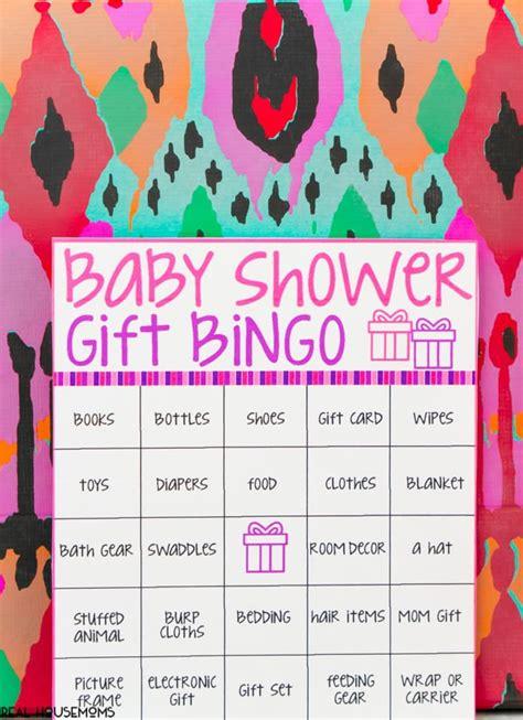Bingo Baby Shower Cards by Baby Shower Bingo Cards Real Housemoms