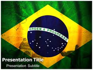 geography of brazil powerpoint templates and backgrounds