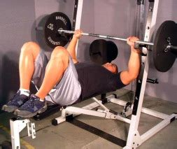 include bar weight in bench press is it ok if i put my leg up on the bench while bench