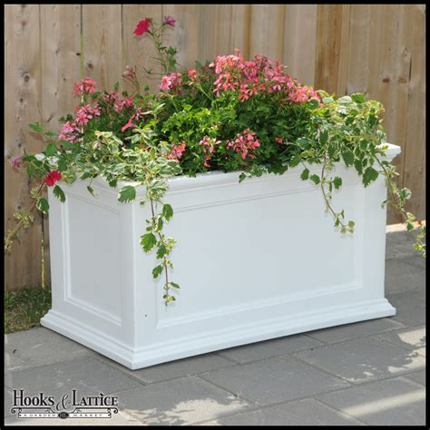 Patio Planters by Prestige Vinyl Planters Plastic Planters Planters For Patio