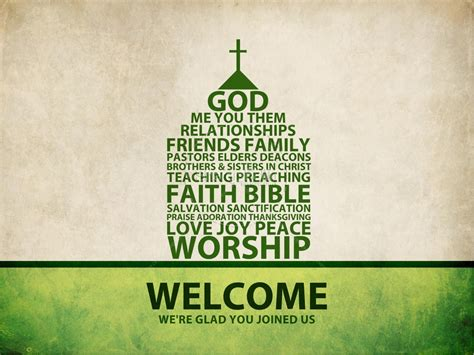 join me in welcoming template what is church sermon powerpoint template powerpoint sermons
