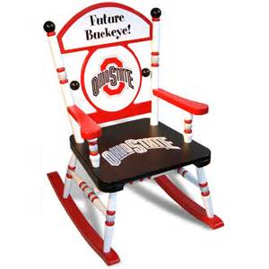 ohio state chairs ohio state rocking chair and luxury kid