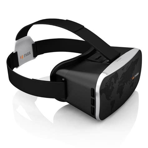 vr park v3 smartphone reality headset with bluetooth remote black