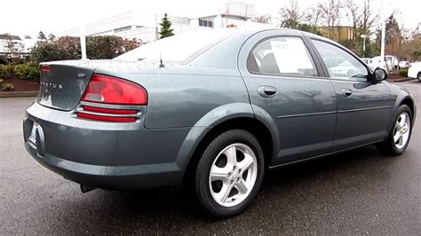 best car repair manuals 1995 dodge stratus electronic toll collection 2006 dodge stratus sxt midnight blue pearl stock 32991a walk around youtube