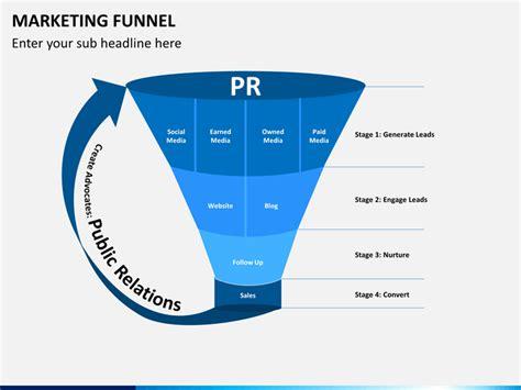 marketing funnel template marketing funnel powerpoint template sketchbubble