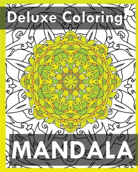 mandala coloring books barnes and noble deluxe coloring book mandala coloring books for