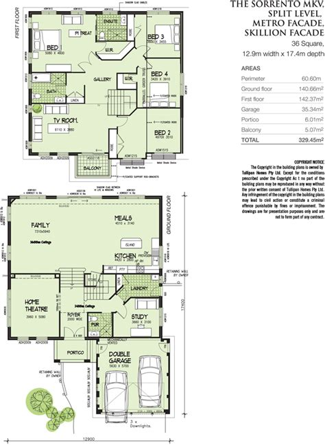 house floor plans sloping blocks sorrento mk5 split level metroskillion facade home design tullipan homes