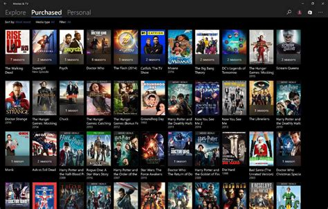 film online tv movies and tv app update for windows 10 brings new ui changes