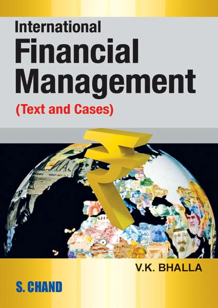international financial management books international financial management text and by v k bhalla