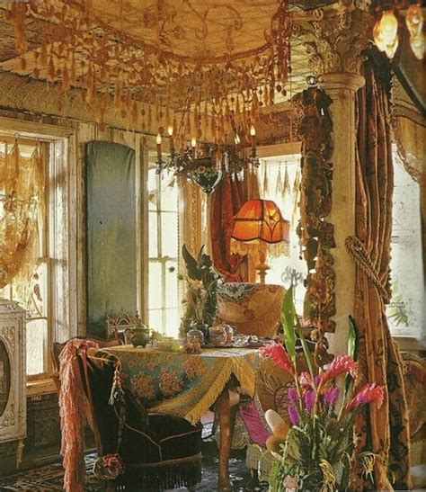 Gypsy Home Decor | eye for design decorating gypsy chic style