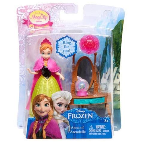 disney frozen magiclip small doll giftset with bonus