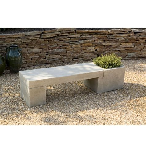 bench concrete best 99 garden benches images on pinterest other