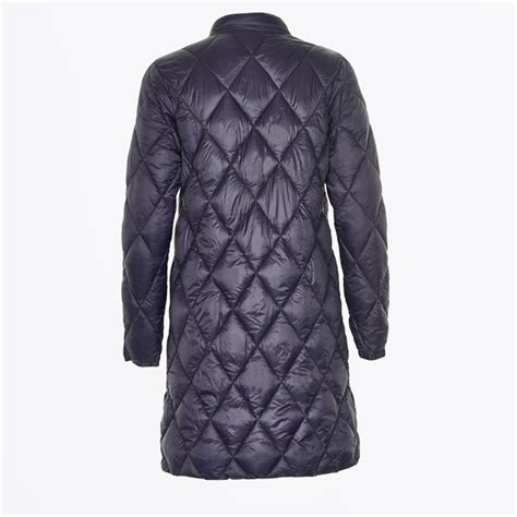 Quilted Coats by Ernada Quilted Coat Navy Winter Coats For