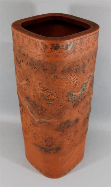 Floor Vase With Stand by Antique Terracotta Stand Umbrella