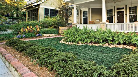 Free Backyard Landscaping Ideas Easy No Mow Lawns Southern Living