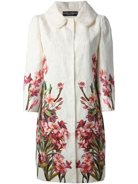 Floral Print Coat From Boden by Lyst Dolce Gabbana Floral Print Coat