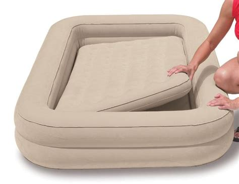 kid travel bed intex 66810 childrens bed kids travel bed childs airbed