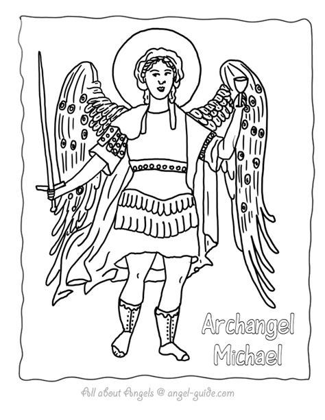 archangel coloring page st michael archangel pictures to color archangel michael