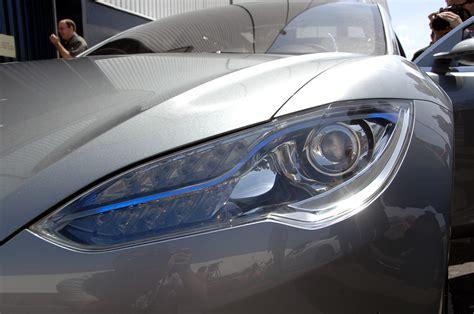 Tesla Limited Edition Tesla Unveils The Model S Sedan Lexus Is Forum