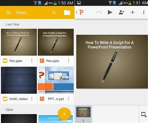 google slides themes android best free apps for making presentations on android