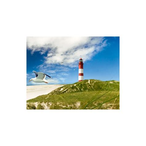 lighthouse in dunes wall mural photo wallpaper 300x280cm