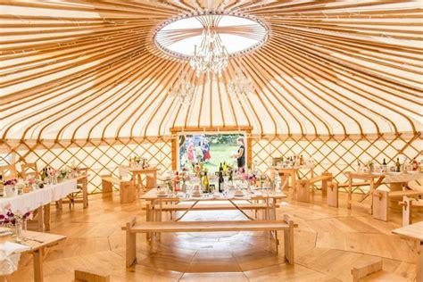 Wedding Yurt by Unique Wedding Venues The Top Non Traditional Venue Ideas