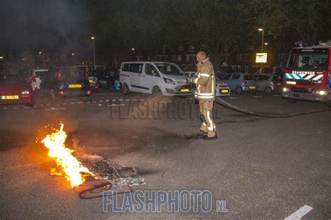 tapijt schiedam tapijt in brand op parkeerplaats broekweg vlaardingen