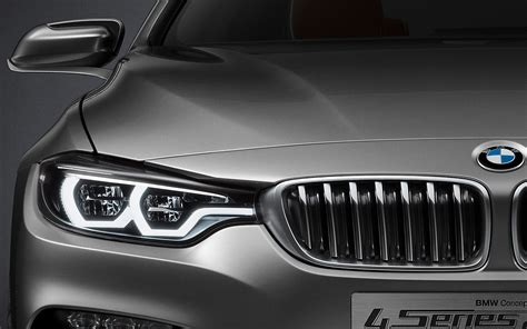 bmw headlights behind the design we talk with the bmw 4 series coupe