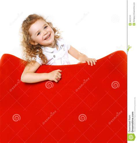 girls armchair cheerful little girl on armchair stock photo image 45015741