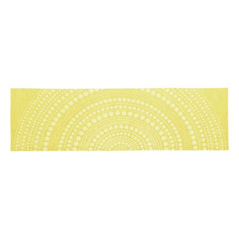 iittala kastehelmi yellow table runner table runners
